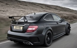 Mercedes Benz C63 AMG Black Series - фото