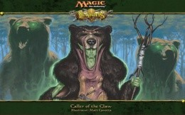 Magic Gathering - Caller of the claw
