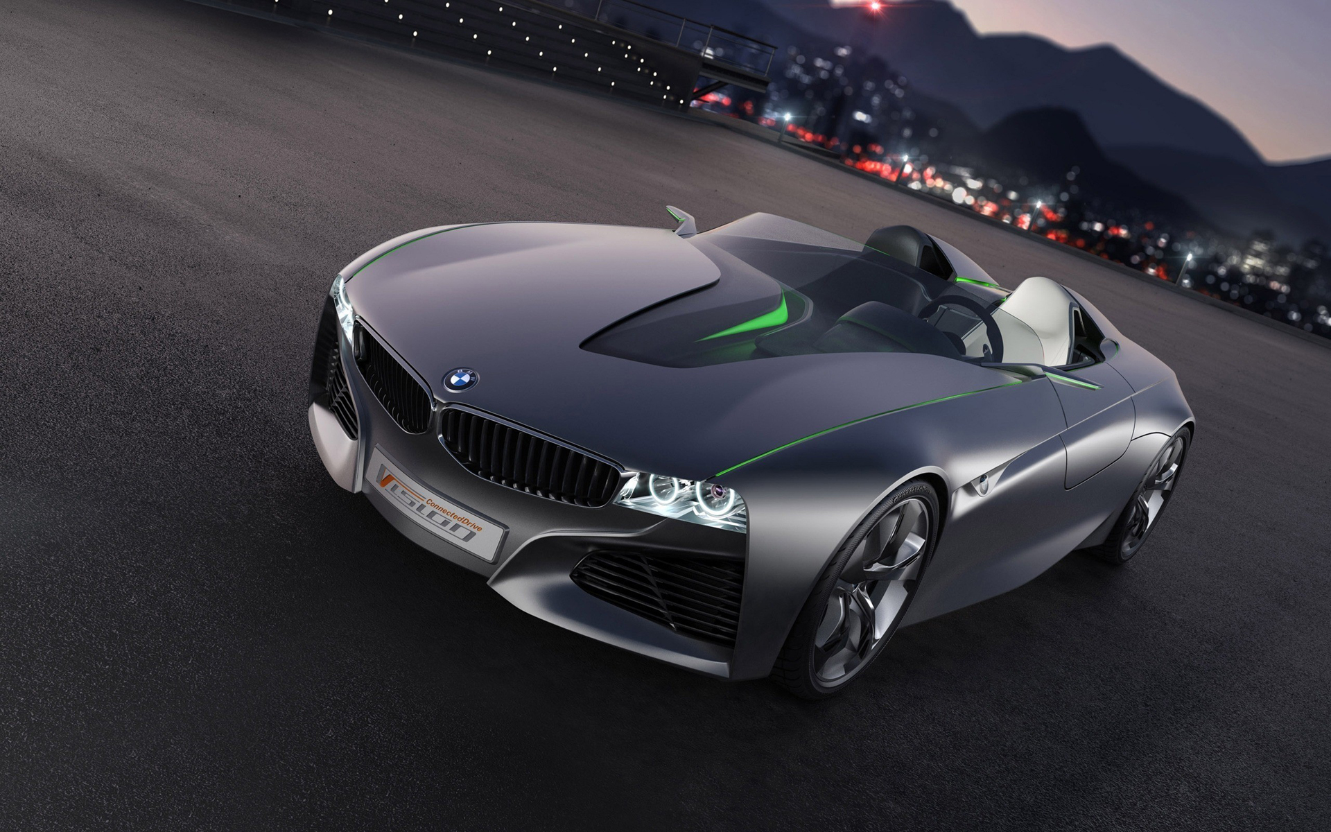 BMW vision connecteddrive, фото автомобиля