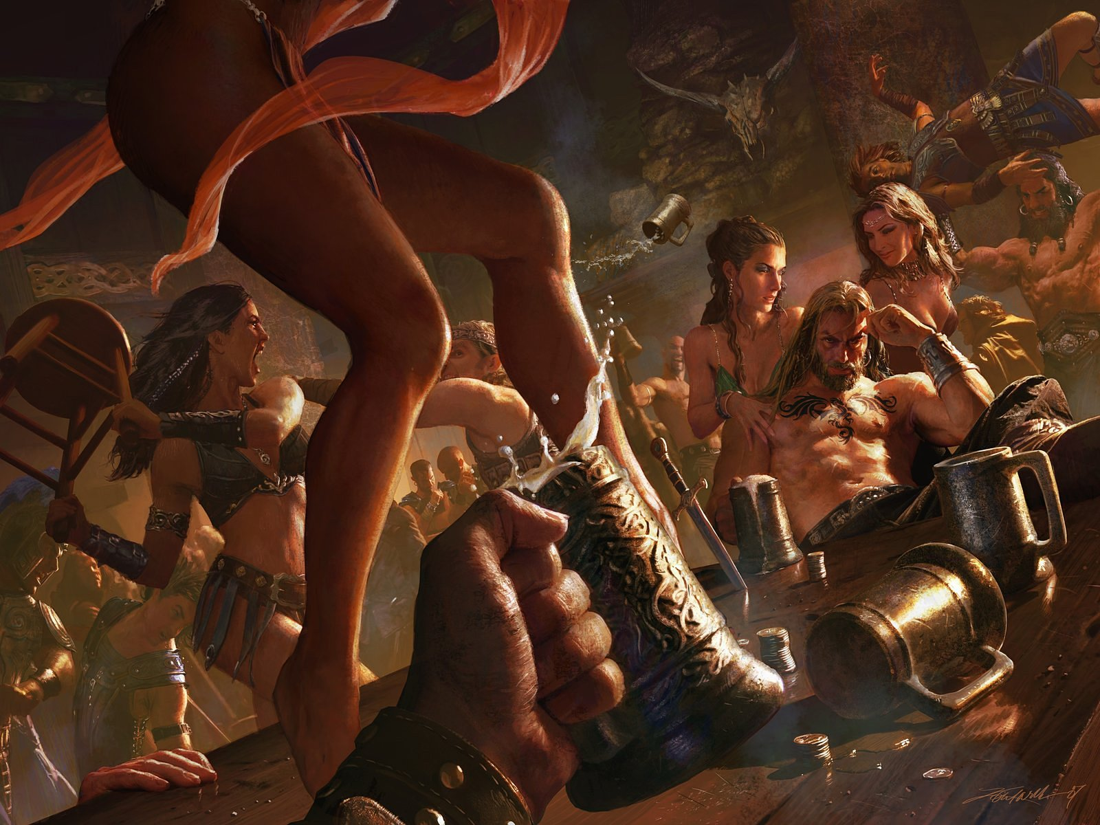Age of conan unchained nude mod nackt toons