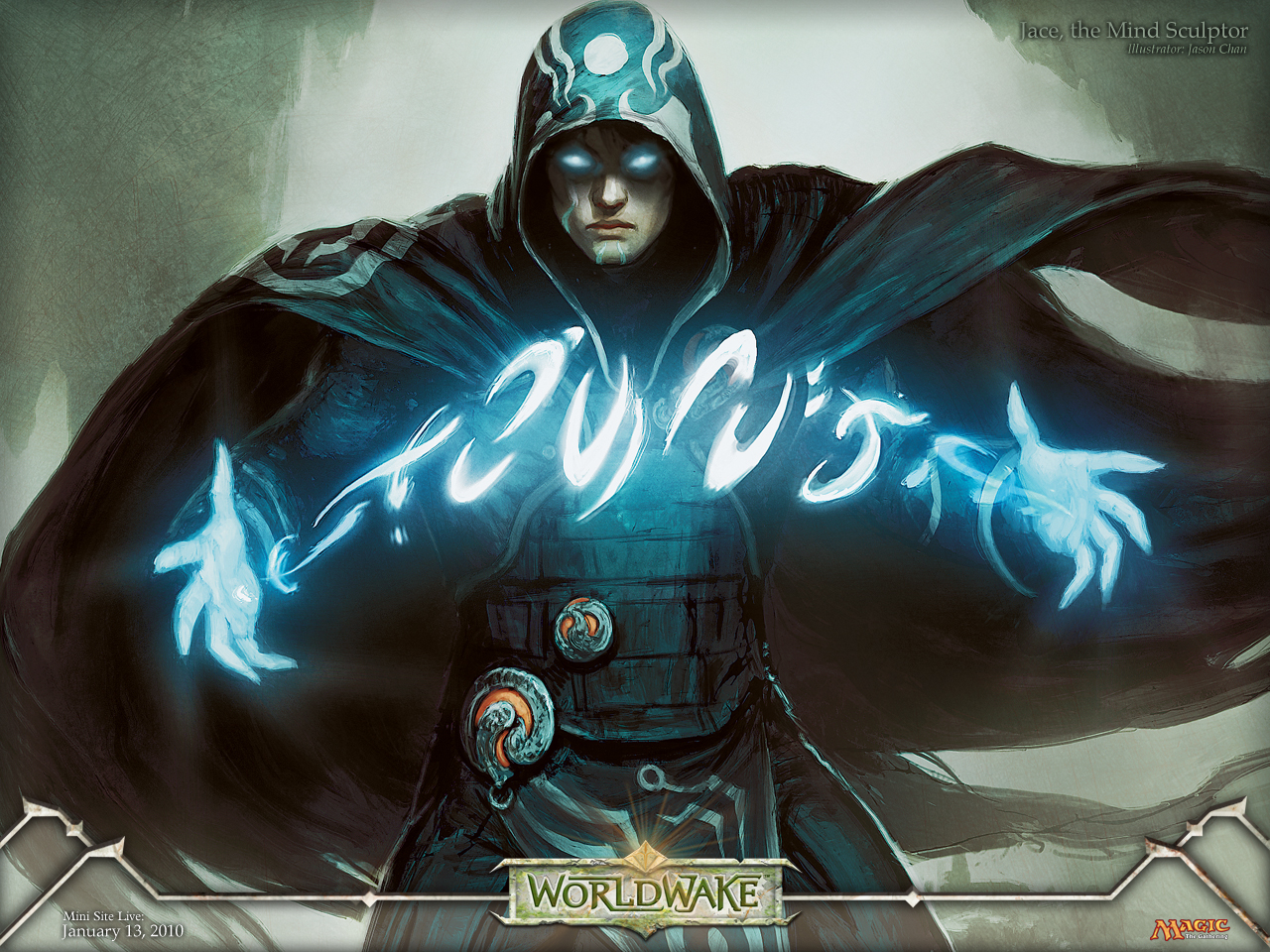 Magic Gathering - Jace, the mind sculptor